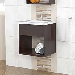 Inval America Wall Mounted Bathroom Vanity - Espresso - GB-3626