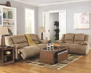 Ashley Furniture Hogan Reclining Sofa, Mocha