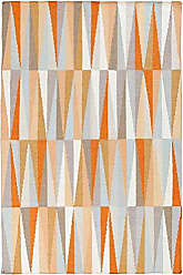 Surya FT580-811 Hand Woven Geometric Area Rug, 8-Feet by 11-Feet