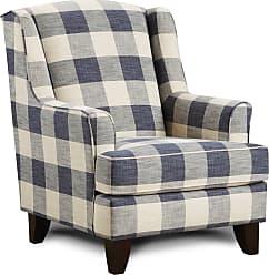 Overstock Yucatan Indigo Accent Chair