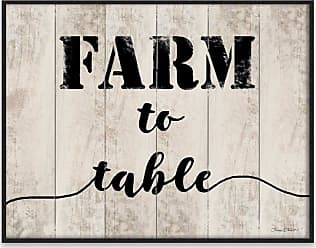 Gallery Direct Farm to Table Recessed Box Wall Art - 97932AW000