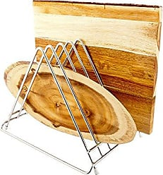 Restaurantware Cutting Board Rack, Dish Rack - Stainless Steel Rack - 6 Slot - 1ct Box - Met Lux - Restaurantware