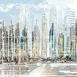 Portfolio Canvas Decor Urban Rising I by PSDesign Wrapped Canvas Wall Art, 30x30