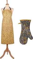 Ulster Weavers Clarissa Hulse Garland Yellow Apron & Gauntlet
