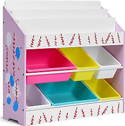 Costway Kids Toy Storage Organizer Children Storage Bins & Book Sleeves