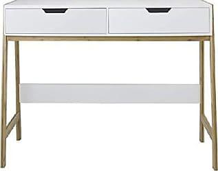 60 x 127 x 75 cm Bianco//Nero MDF MC Racing Scrivania