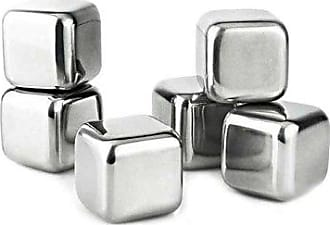 Visol Products VisolArctic Stainless Steel 6-Piece Ice Cube Set, Chrome