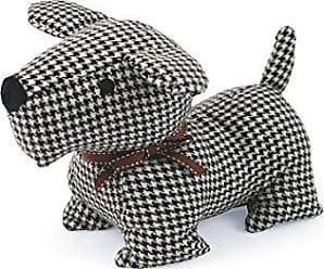 Türpuffer Türhalter Dog Türstopper Türstopp Hund Kunstleder schwarz 1,2 kg