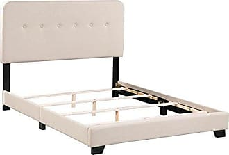 Boraam 95153 Helene Box Full Bed, Tan