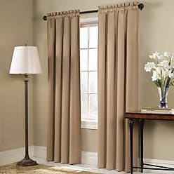 United Curtain Blackstone Blackout Window Curtain Panel, 54 by 84-Inch, Gold