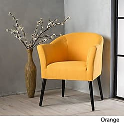 Christopher Knight Home 299473 Cosette Fabric Arm Chair, Orange
