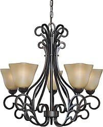 Woodbridge Lighting 12166-BOR Palermo 5 Light 25 Wide Single Tier