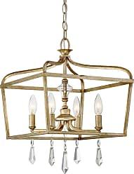 Minka Lavery Laurel Estate 14.25 4-Light Pendant in Brio Gold
