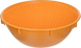Paderno World Cuisine 8-5/8-Inch Round Orange Proofing Basket (1 Kilo)
