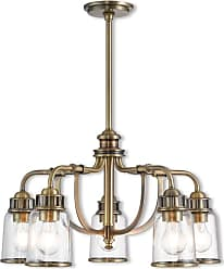 Livex Lighting 40025 Lawrenceville 5 Light 24 Wide Chandelier with