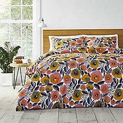 Revman International Marimekko Rosarium Comforter Set, King, Pink