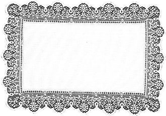 Heritage Lace Prelude 14-Inch by 19-Inch Placemat, Ecru, Set of 2