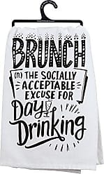 Primitives By Kathy LOL Made You Smile Dish Towel, 28, Acceptable Excuse for Day Drinking