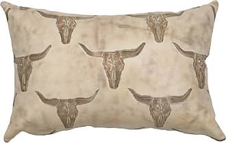 Wooded River Redrock Canyon Leather Decorative Throw Pillow - WD80225