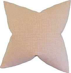 The Pillow Collection Hye Plaid Pillow, Orange