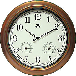 Infinity Instruments 12144CP-1679 Wall Clock The Craftsman