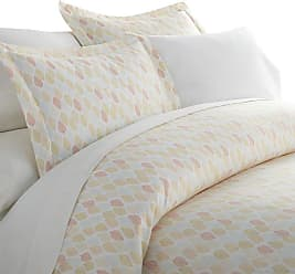 Noble Linens Premium Ultra Soft Fall Foliage Pattern Duvet Cover Set by Noble Linens, Size: Queen - NL-DUV-LEA-Q-YE