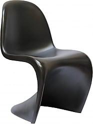 Rivatti Cadeira Poltrona Panton Preta