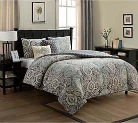 VCNY Valencia Comforter Set by VCNY, Size: Full/Queen - VCA-5CS-FUQU-IN-BL