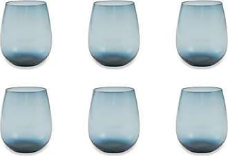 Grau Villa d/'Este Home Tivoli 2193669 Set aus 6 Cancun Satin Glas