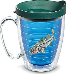 Trevis Tervis 1134111 Guy Harvey - Snook Tumbler with Emblem and Hunter Green Lid 16oz Mug, Blue