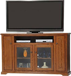 American Heartland 67.5 in. Tall Deluxe Oak Entertainment Console - Assorted Finishes - 63867LT