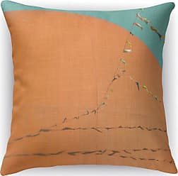 Kavka Designs Grand Orange Accent Pillow - IDP-DI16-16X16-BOB021