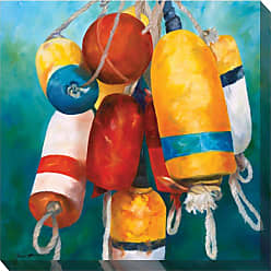 West of the Wind Buoys Wall Art - 24W x 24H in. - 84004-24
