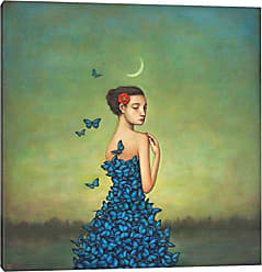 iCanvas Metamorphosis in Blue Canvas Print by by Duy Huynh, 18 x 18