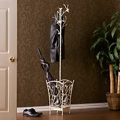 Southern Enterprises Bird and Branch Antique White Coat Rack - HE7222