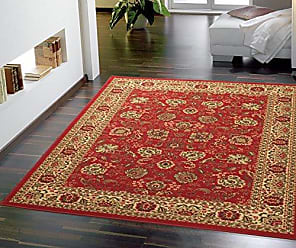 Ottomanson OTH2130-5X7 Rug, 50 X 66, Red Persian