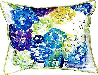 Betsy Drake SN022 Betsys Hydrangea Pillow, 11 x14