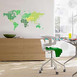 Ideal Decor World Map Wall Decals - TDM74108