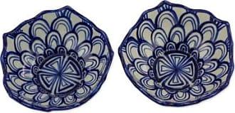 Novica Terracotta bowls, Girasoles del Campo (pair)