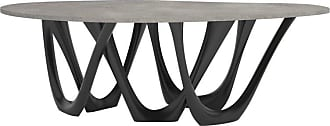 Zieta G-table B+c In Powder-coated Steel With Concrete Top By Zieta