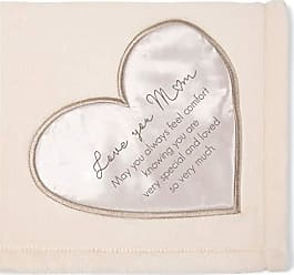 Pavilion Gift Company 19502 Comfort Love You Mom Thick Warm 320 GSM Royal Plush Throw Blanket