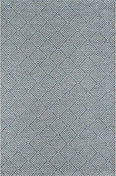 Momeni Rugs Momeni Rugs COMO0COM-3BLU5076 Como Contemporary Geometric Indoor Outdoor Area Rug, 5 X 76, Blue