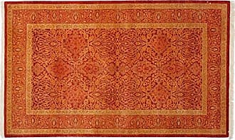 Solo Rugs Mogul Hand Knotted Area Rug, 3 2 x 5 2, Red