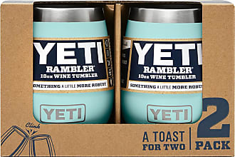 Yeti Seafoam 10 Oz Rambler Wine Tumbler 2-Pack