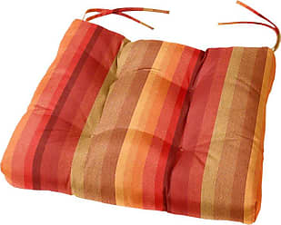 Cushion Source 19 x 18 in. Striped Tufted Sunbrella Chair Cushion Foster Surfside - UXSNV-56049