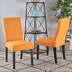 Christopher Knight Home 295177 Corbin Dining Chair, Orange