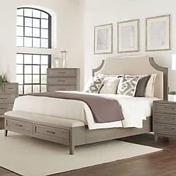 Riverside Furniture Vogue Upholstered Storage Bed, Size: Queen - RVS3522-1