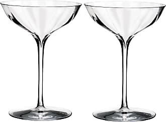 Waterford Optic Champagne Belle Coupe Glasses - Set of 2