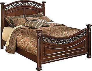 Ashley Furniture Signature Design - Leahlyn Queen Panel Footboard - Component Piece - Warm Brown