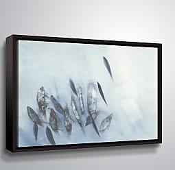 Brushstone Gently Waving Wall Art Framed - 2MAY011A0810F